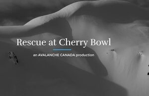 Cherry Bowl Avalanche Rescue