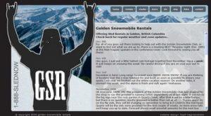 Golden Snowmobile Rentals British Columbia Sledding Avalanche