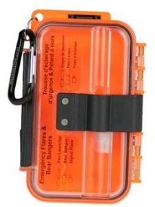 Flare waterproof pelican case