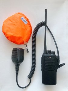 Simple alternative to waterproof radio mic cover